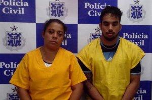 Joane Gomes da Silva dos Reis, 36 anos, de Valença e Rafael Luís de Araújo Lima, de 30 anos