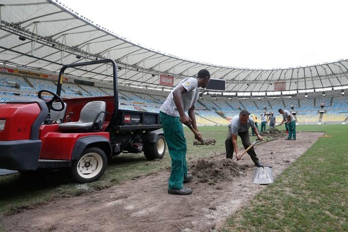 Cons�rcio garante boas condi��es para o jogo Fluminense x S�o Paulo