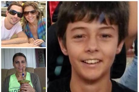 O corpo de Bernardo Uglioni Boldrini, 11, foi encontrado no dia 14 de abril dentro de um saco pl�sti