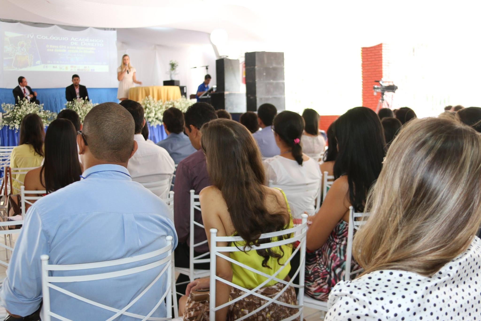 O evento foi realizado em dois dias com a presen�a de diversos palestrantes (Foto: Silvanio V�deos)
